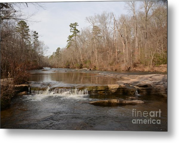 I Love To Go A Wanderin' Yellow River Park -georgia Metal Print