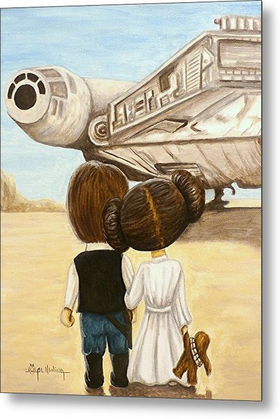 I Love You     I Know Metal Print by Al  Molina