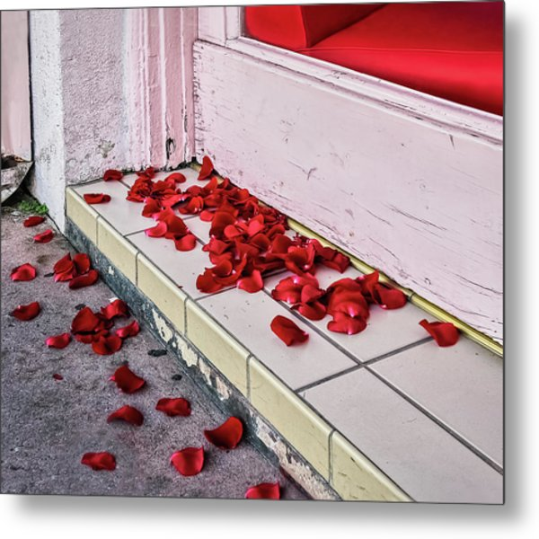 I Poured Out My Heart Metal Print