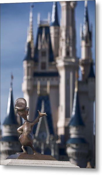 I Present You Cinderella's Castle Metal Print