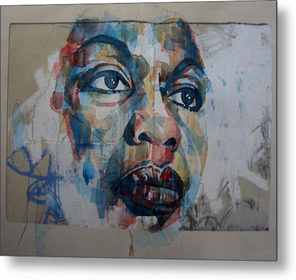 I Put A Spell On You - Nina Simone  Metal Print