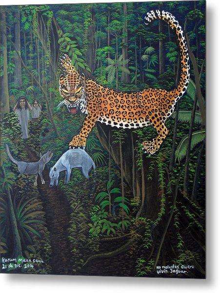 I Want To Live Jaguar Metal Print