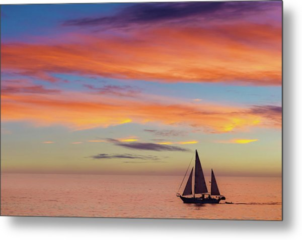 I Will Sail Away, And Take Your Heart With Me Metal Print