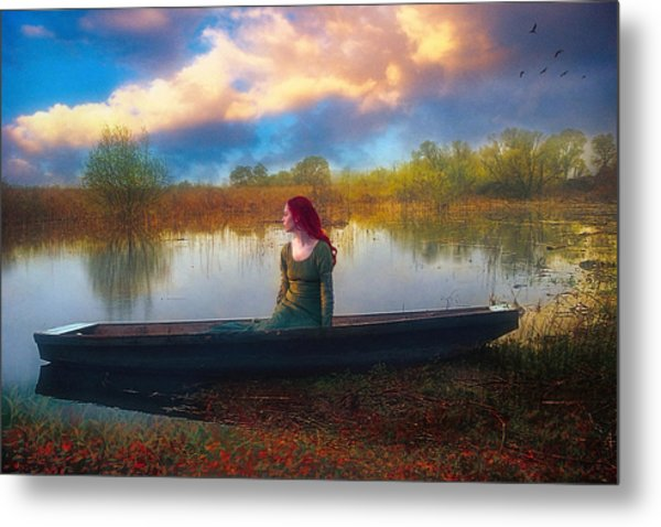 I Will Wait For You Metal Print