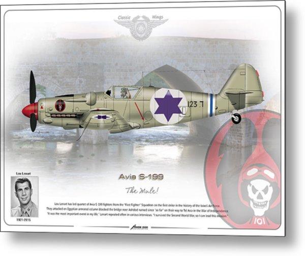 Iaf Avia S-199 Metal Print
