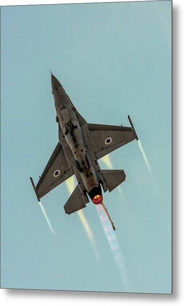 Iaf F-16i Sufa Metal Print