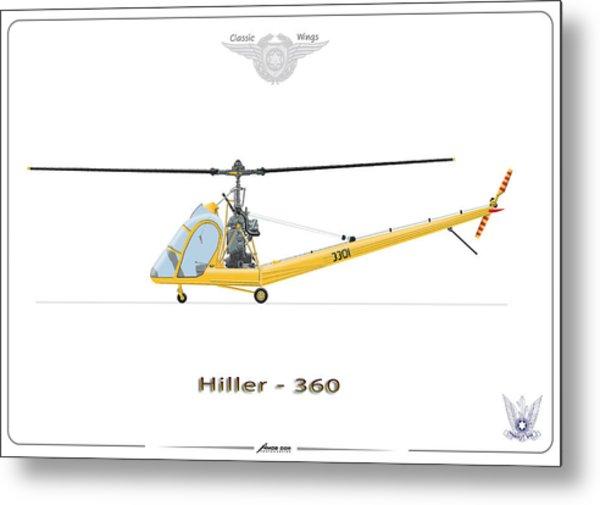 Iaf Hiller 360 Metal Print