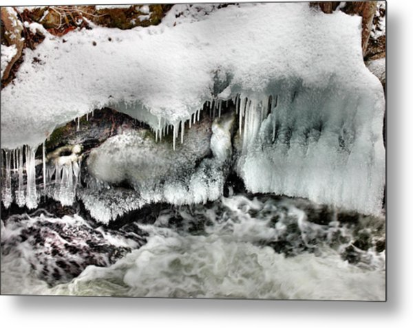Ice 3 Metal Print by Rick Couper