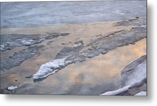 Ice And Clouds 2  Metal Print