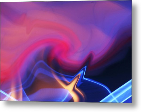 Ice And Flame Metal Print