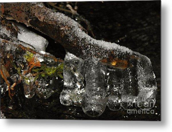 Ice Boots Metal Print