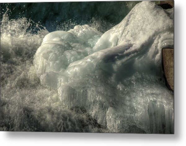 Ice Cap 2 Metal Print by Rick Couper