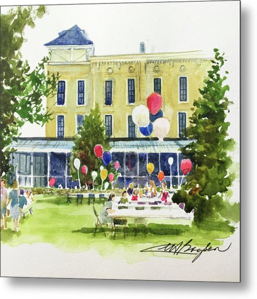 Ice Cream Social And Strawberry Festival, Lakeside, Oh Metal Print
