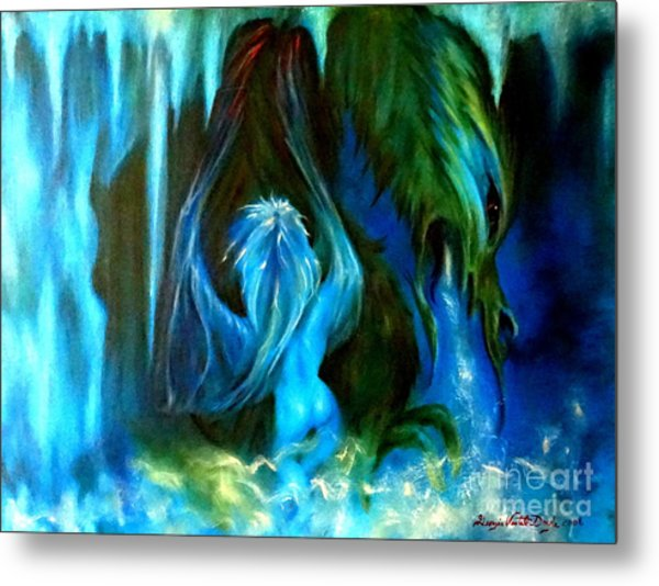 Dance Of The Winged Being Metal Print