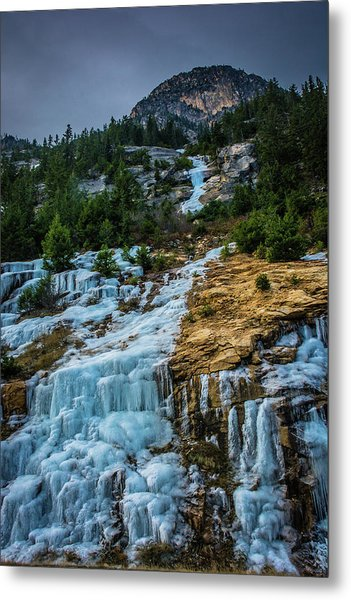 Ice Fall Metal Print