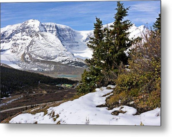 Metal Print featuring the photograph Ice Fields by John Gilbert