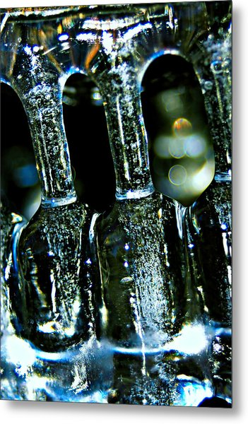 Ice Formation 02 Metal Print