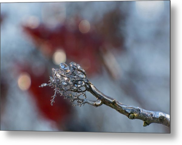 Ice Wand Metal Print