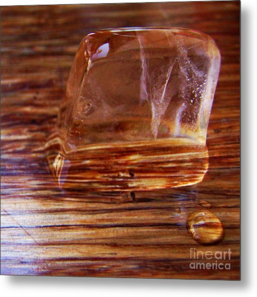Icecube Trail Metal Print