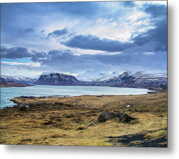Icelandic Blues Metal Print
