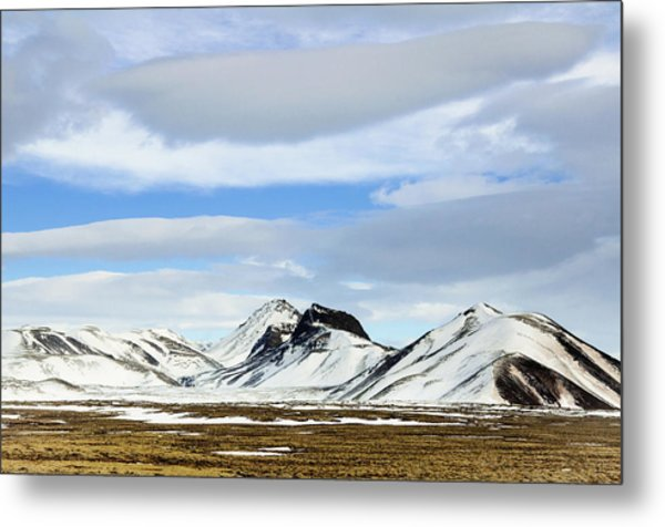 Icelandic Wilderness Metal Print