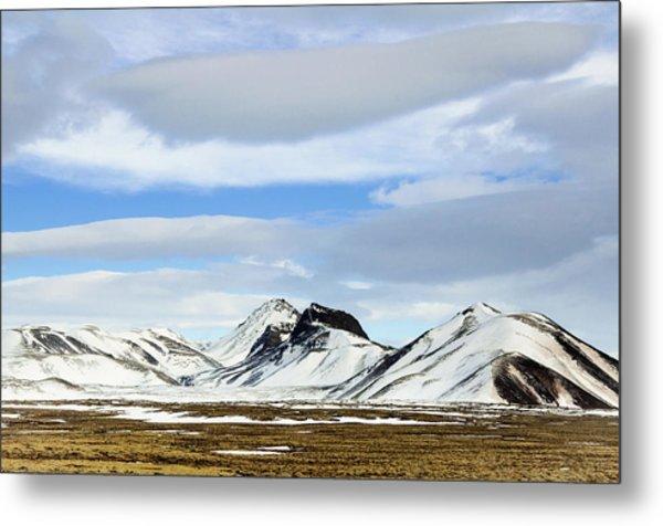 Icelandic Wilderness Metal Print