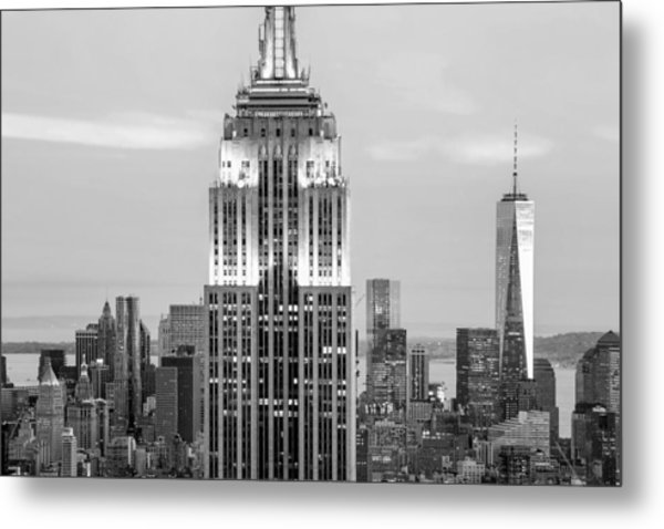 Iconic Skyscrapers Metal Print
