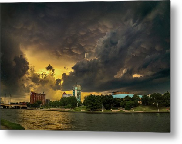 ict Storm - High Res Metal Print