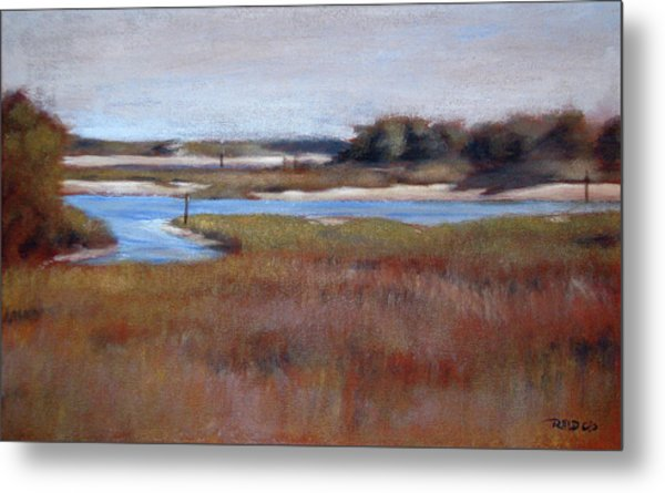 Icw Looking Toward Masonboro Metal Print
