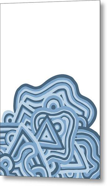 Icy Fun Metal Print