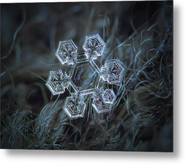 Icy Jewel Metal Print