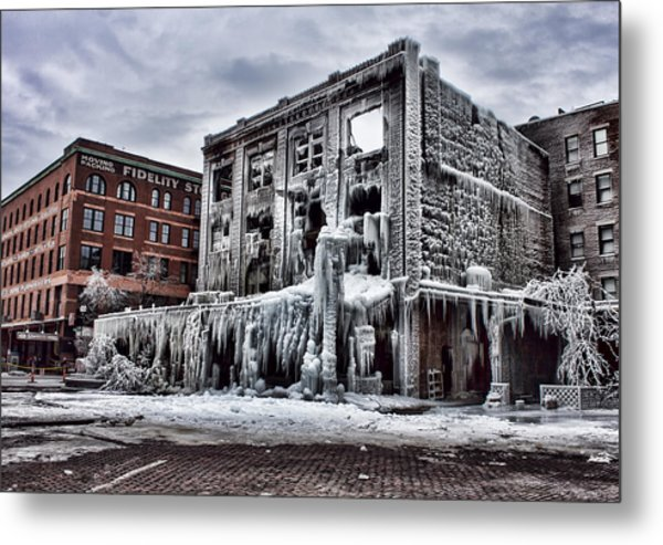 Icy Remains - After The Fire Metal Print