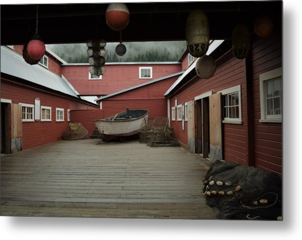 Icy Strait Point Cannery Museum Metal Print