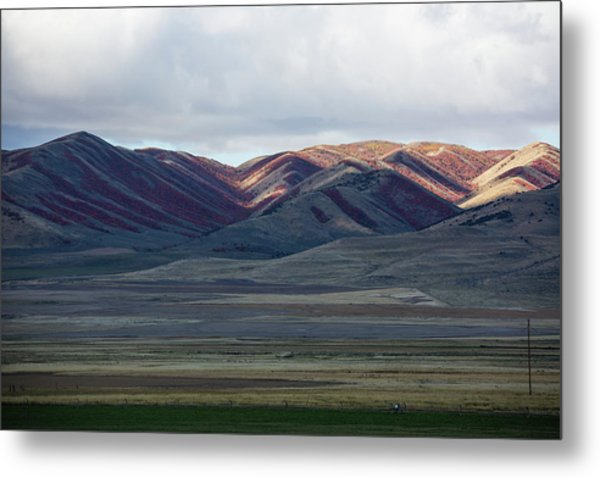Idaho Red Metal Print