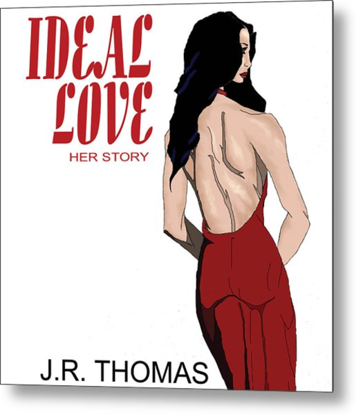 Metal Print featuring the digital art Ideal Love Book Cover by Jayvon Thomas