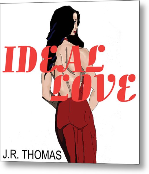 Metal Print featuring the digital art Ideal Love Cover by Jayvon Thomas
