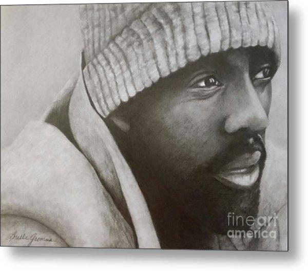 Idris Elba Metal Print by Lorelle Gromus