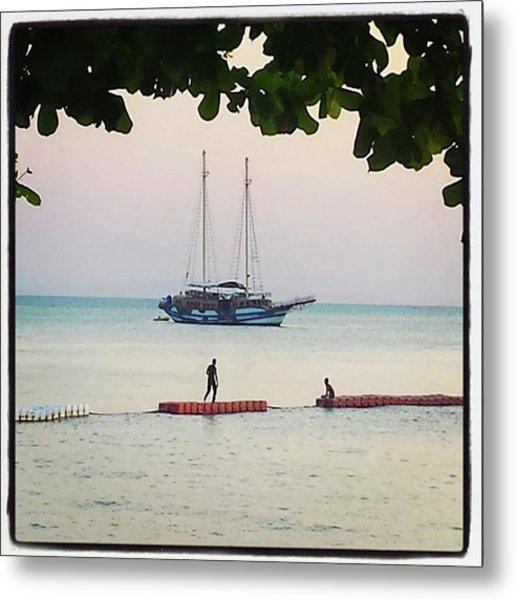 Metal Print featuring the photograph Idyllic Setting To Idle The Time Away by Mr Photojimsf