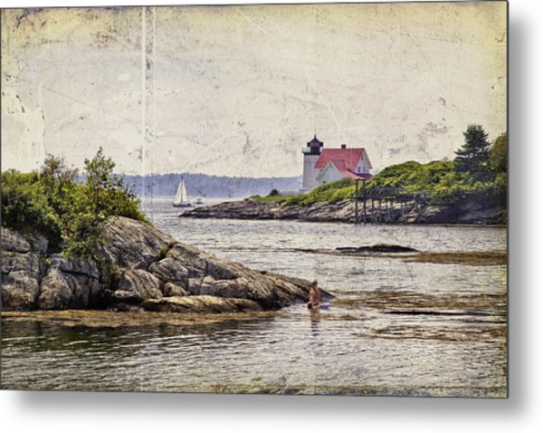 Idyllic Summer Days Metal Print
