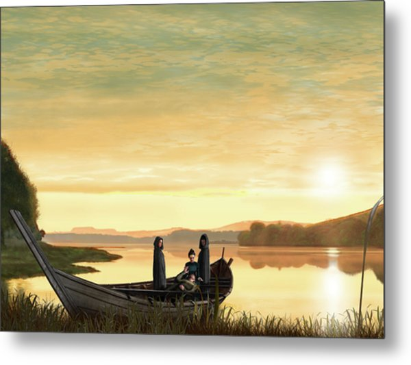 Idylls Of The King Metal Print