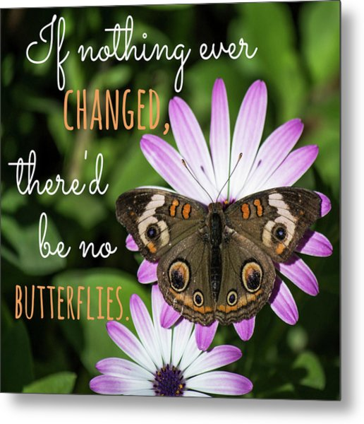 If Nothing Ever Changed Metal Print