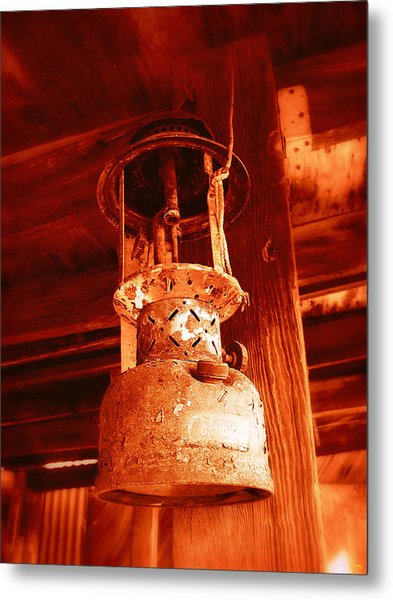 If The Lantern Could Speak Metal Print by Glenn McCarthy