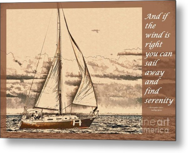 If The Wind Is Right Metal Print