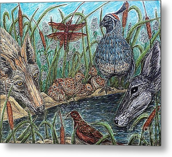 If They Can Share..? Metal Print