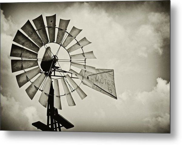 If Windmills Could Talk Metal Print