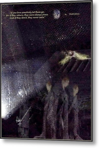 If You Love Somebody Metal Print by Freddy Kirsheh