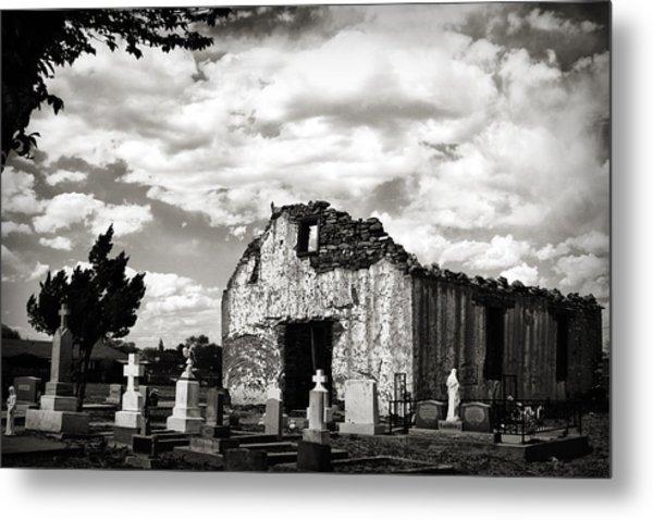 Iglesia Cementerio Metal Print