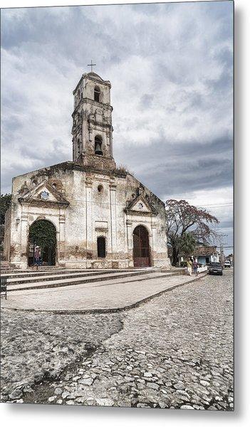 Iglesia De Santa Ana Metal Print