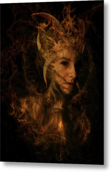 Ignis Luciferi Metal Print by Cambion Art