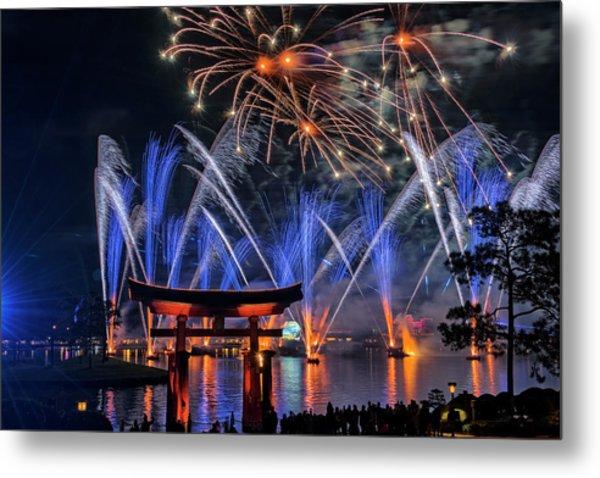 Illuminations 2 - Epcot Center At Disney World Orlando Florida Metal Print